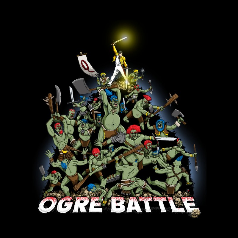 Ogre Battle! Men's Pullover Hoody by Joe Abboreno's Artist Shop