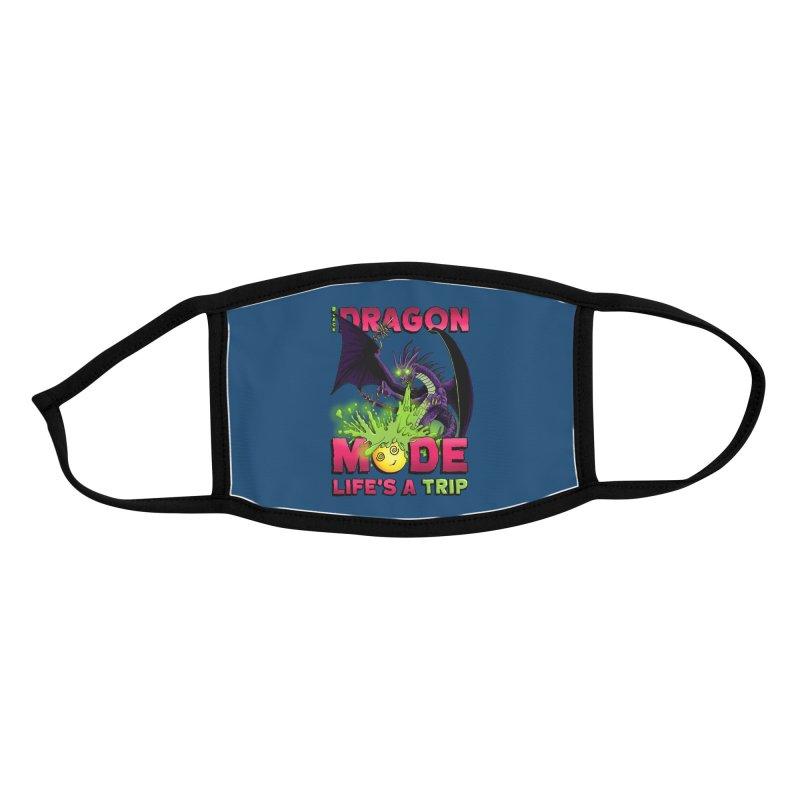 Black Dragon Mode Accessories Face Mask by Joe Abboreno's Artist Shop