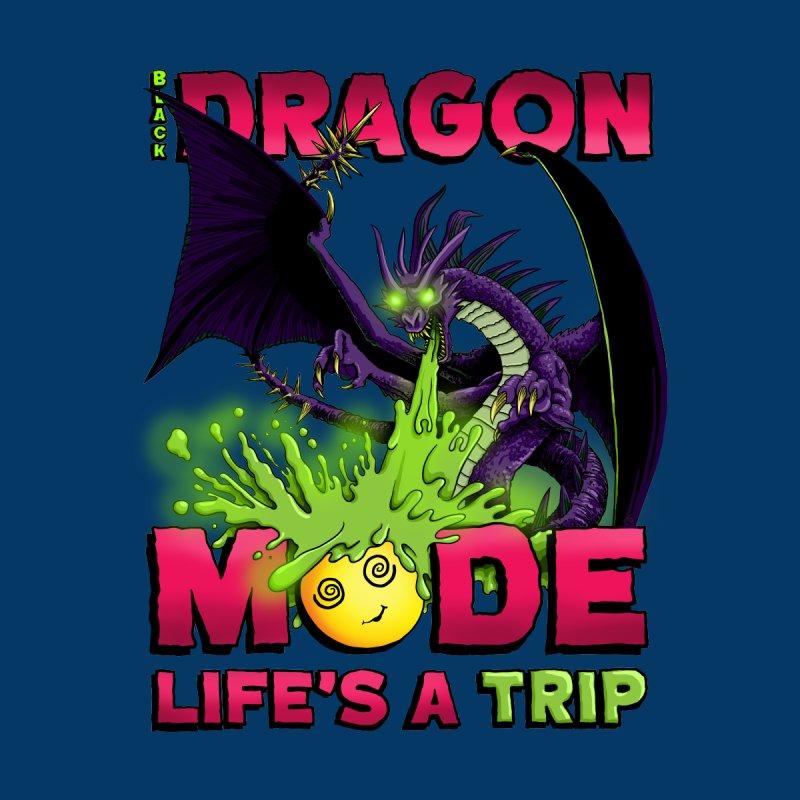 Black Dragon Mode Men's Pullover Hoody by Joe Abboreno's Artist Shop