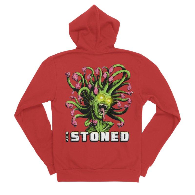 Get Stoned! Women's Zip-Up Hoody by Joe Abboreno's Artist Shop