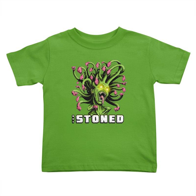 Get Stoned! Kids Toddler T-Shirt by Joe Abboreno's Artist Shop