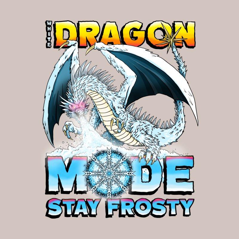 White Dragon Mode Men's Pullover Hoody by Joe Abboreno's Artist Shop