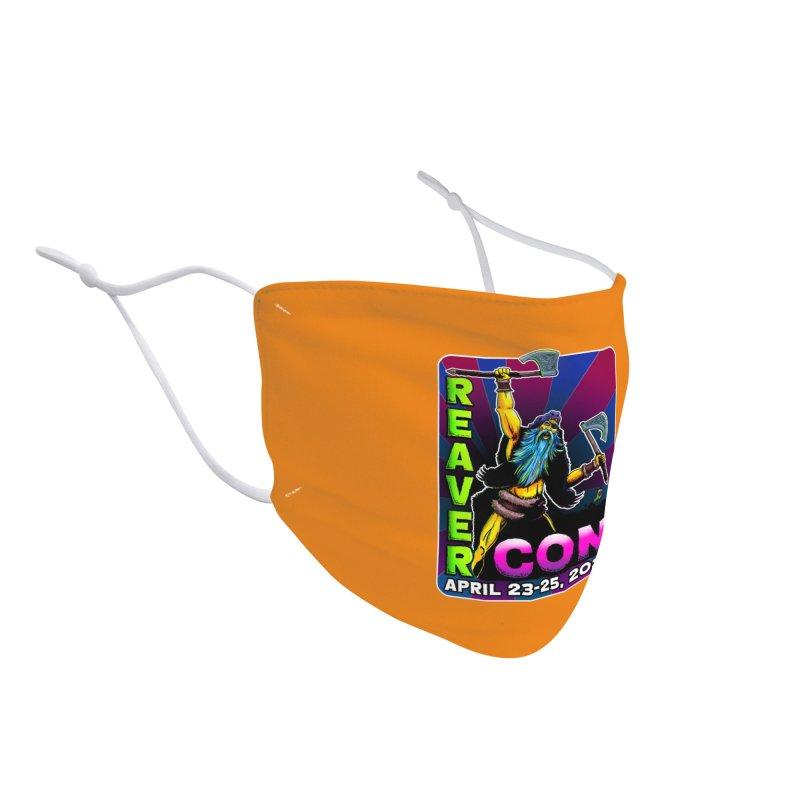 Reaver Con 1 Accessories Face Mask by Joe Abboreno's Artist Shop