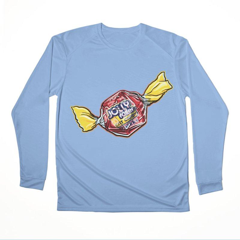 Cherry Jolly Roller Women's Longsleeve T-Shirt by Joe Abboreno's Artist Shop