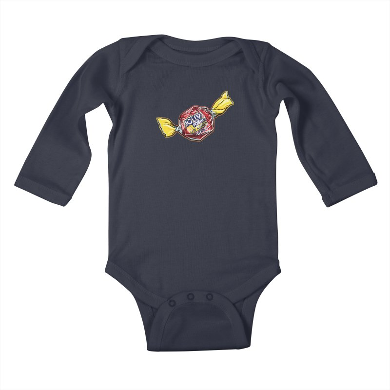 Cherry Jolly Roller Kids Baby Longsleeve Bodysuit by Joe Abboreno's Artist Shop
