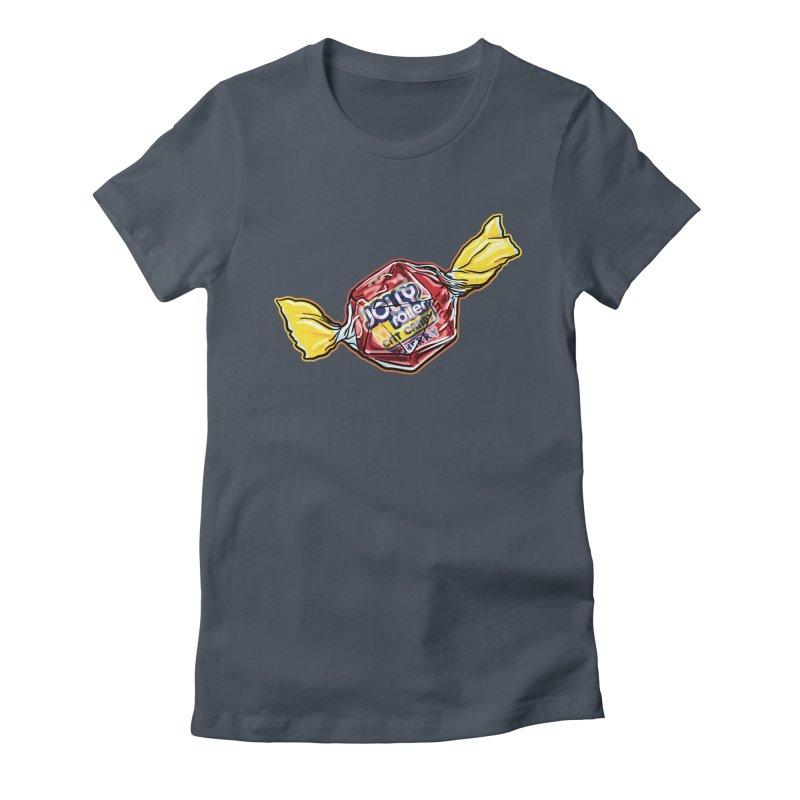 Cherry Jolly Roller Women's T-Shirt by Joe Abboreno's Artist Shop