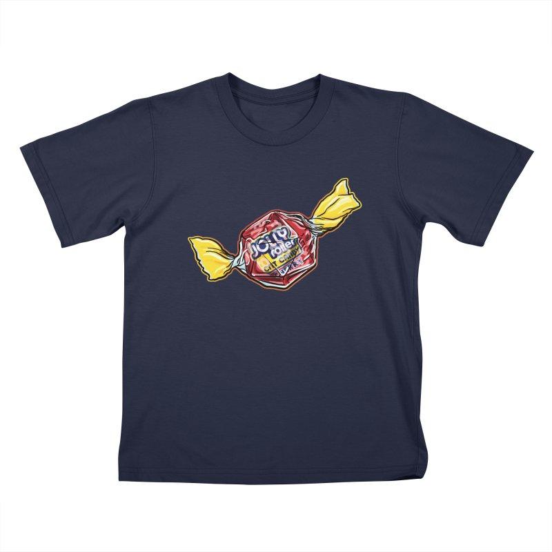 Cherry Jolly Roller Kids T-Shirt by Joe Abboreno's Artist Shop