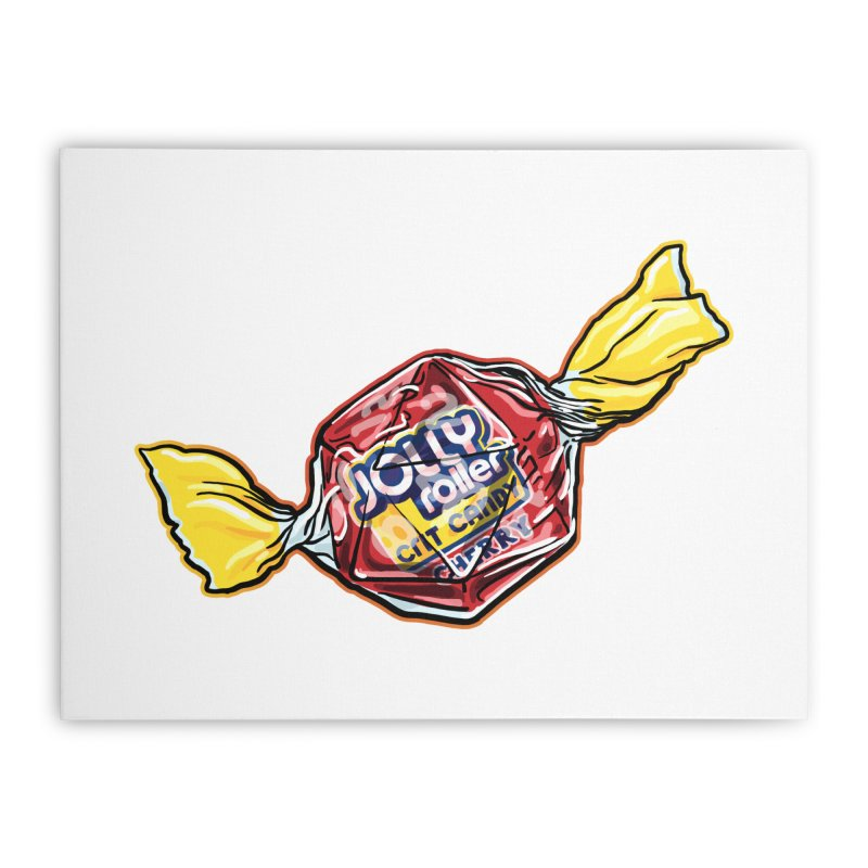 Cherry Jolly Roller Home Stretched Canvas by Joe Abboreno's Artist Shop