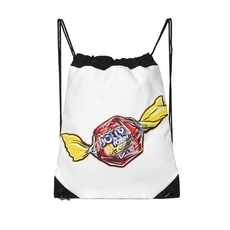Cherry Jolly Roller Accessories Bag by Joe Abboreno's Artist Shop