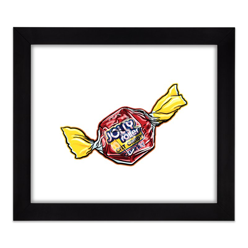 Cherry Jolly Roller Home Framed Fine Art Print by Joe Abboreno's Artist Shop
