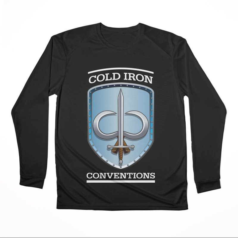 Cold Iron Conventions Logo for Dark backgrounds Women's Longsleeve T-Shirt by Joe Abboreno's Artist Shop