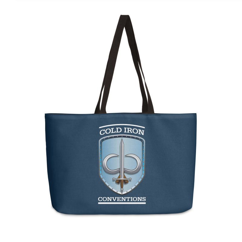 Cold Iron Conventions Logo for Dark backgrounds Accessories Bag by Joe Abboreno's Artist Shop