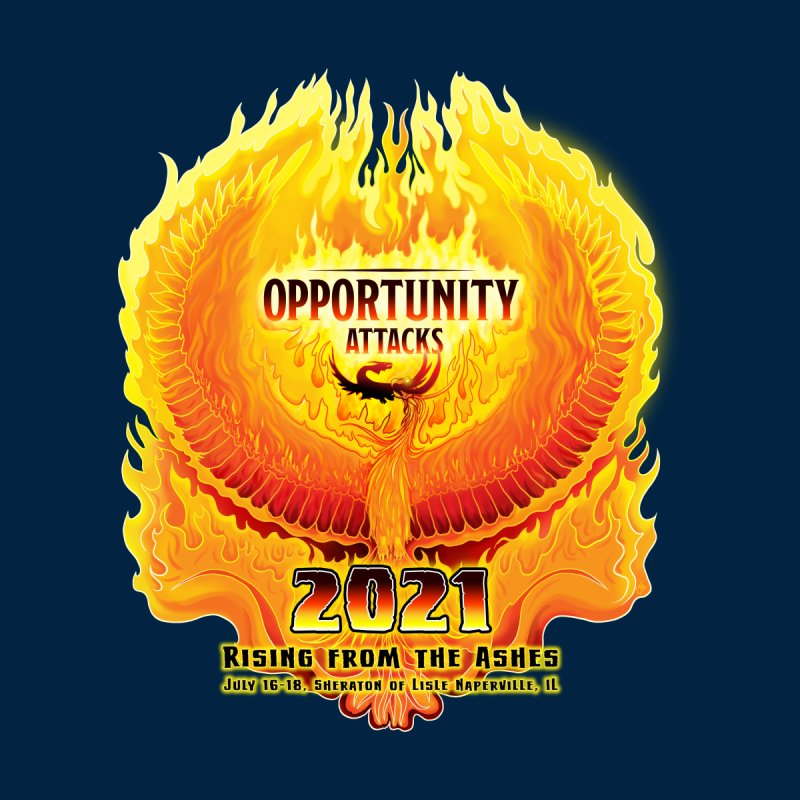 Opportunity Attacks 2021, The Phoenix Accessories Neck Gaiter by Joe Abboreno's Artist Shop