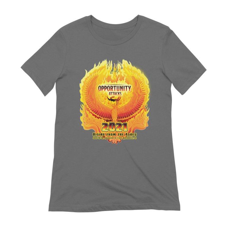 Opportunity Attacks 2021, The Phoenix Women's T-Shirt by Joe Abboreno's Artist Shop