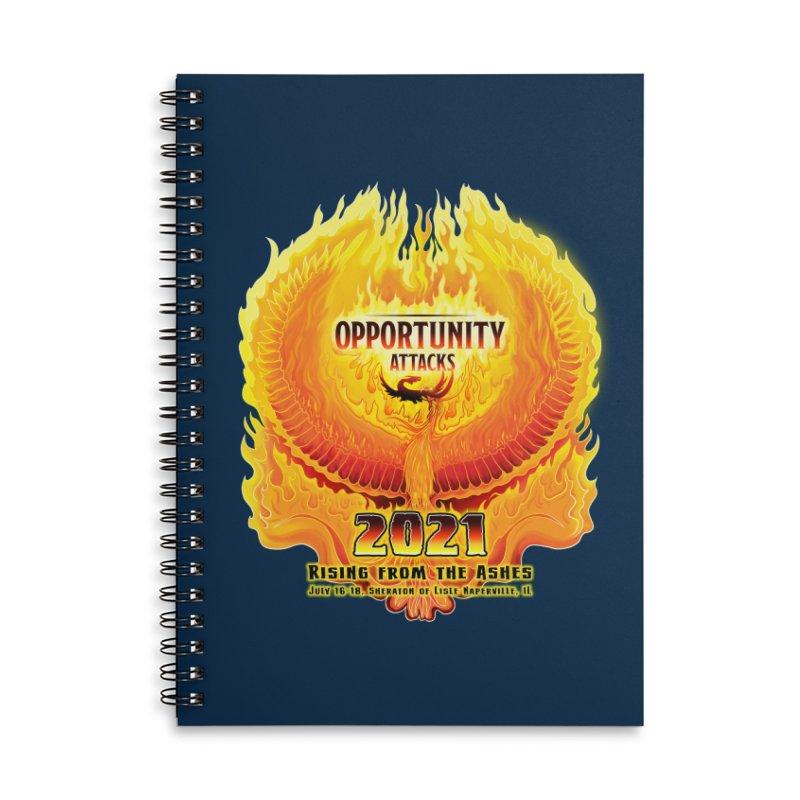 Opportunity Attacks 2021, The Phoenix Accessories Notebook by Joe Abboreno's Artist Shop