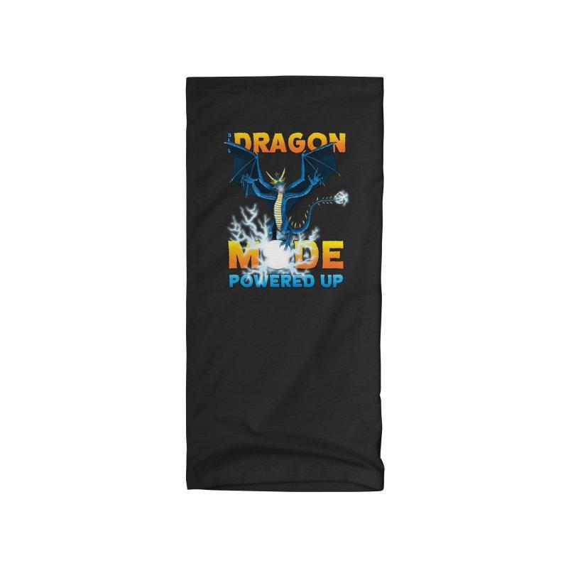 Blue Dragon Mode Accessories Neck Gaiter by Joe Abboreno's Artist Shop