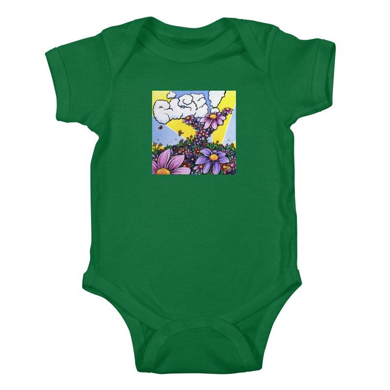 Rise! Kids Baby Bodysuit by Joe Abboreno's Artist Shop