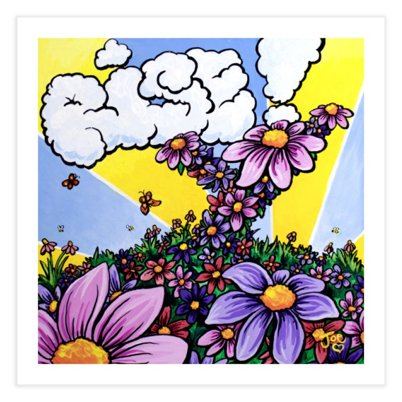 Rise! Home Fine Art Print by Joe Abboreno's Artist Shop