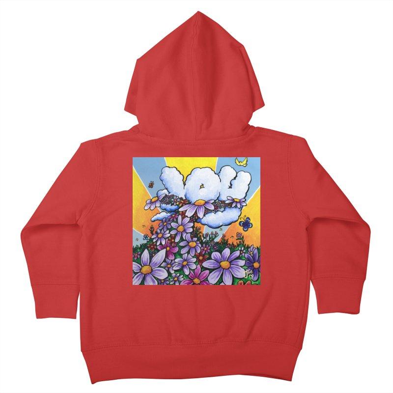 JOY Kids Toddler Zip-Up Hoody by Joe Abboreno's Artist Shop