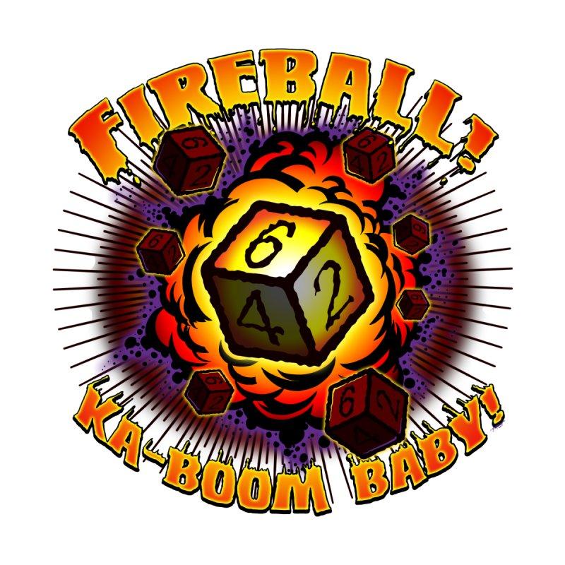 Fireball! Ka-Boom Baby! by Joe Abboreno's Artist Shop