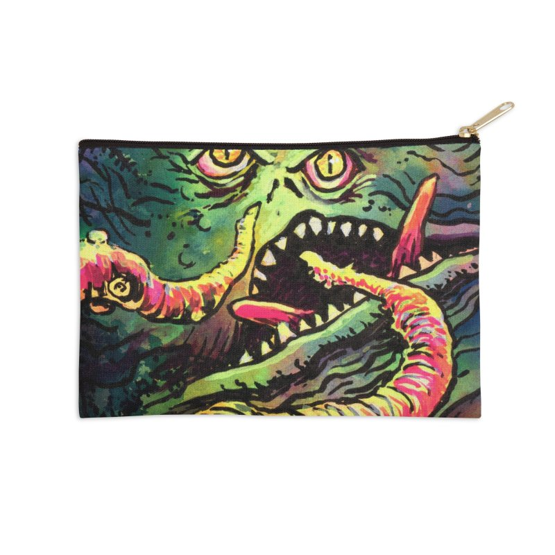 The Creep Accessories Zip Pouch by Joe Abboreno's Artist Shop