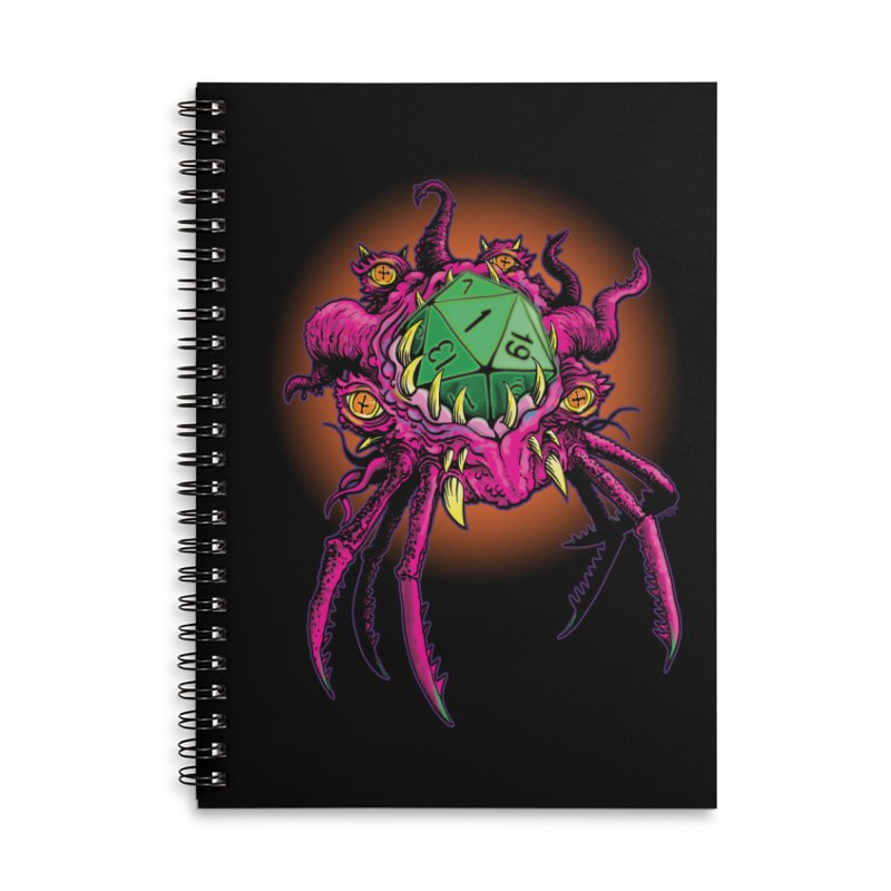Selbmuf demi-god of Fumbles Accessories Lined Spiral Notebook by Joe Abboreno's Artist Shop