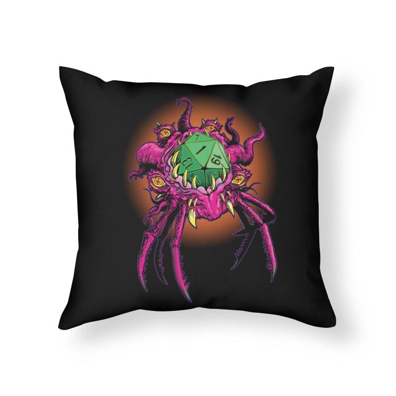 Selbmuf demi-god of Fumbles Home Throw Pillow by Joe Abboreno's Artist Shop