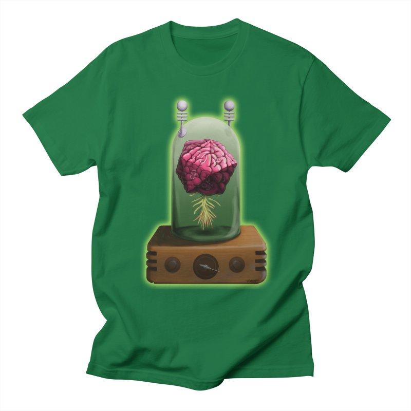 Think Critical Men's T-Shirt by Joe Abboreno's Artist Shop