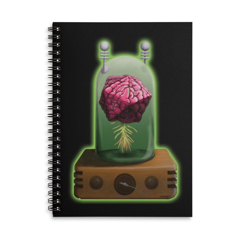 Think Critical Accessories Lined Spiral Notebook by Joe Abboreno's Artist Shop