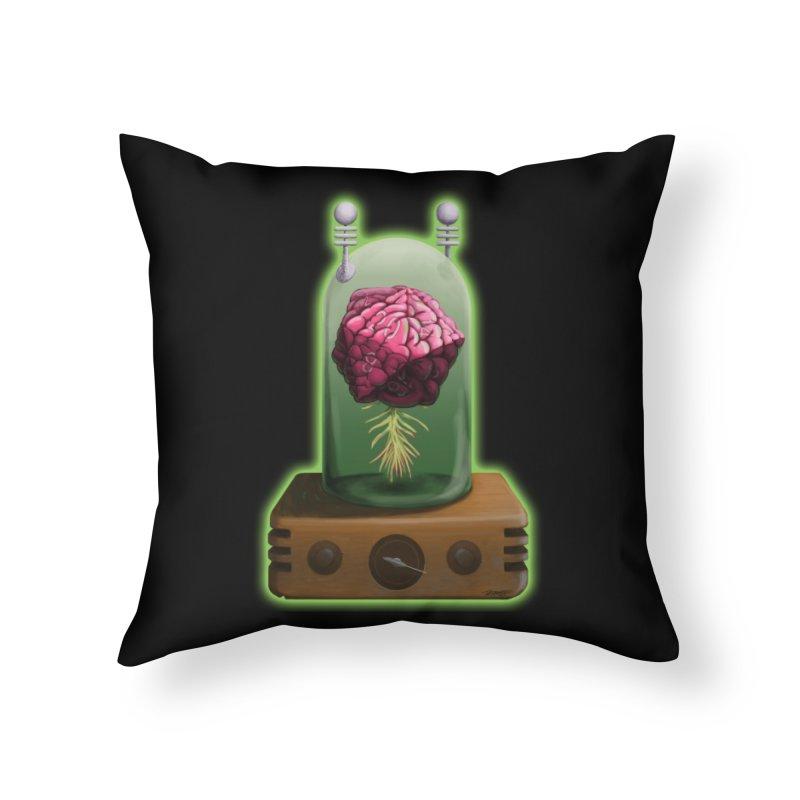 Think Critical Home Throw Pillow by Joe Abboreno's Artist Shop