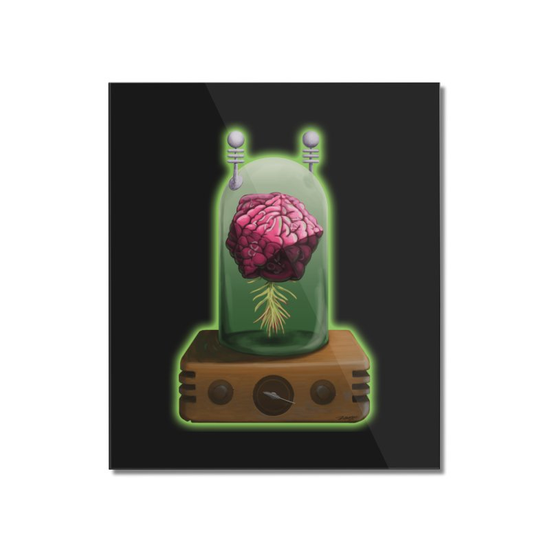 Think Critical Home Mounted Acrylic Print by Joe Abboreno's Artist Shop