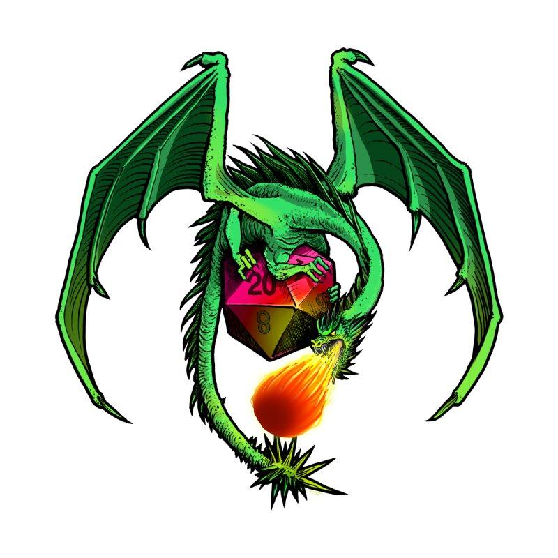 Dragon d20 by Joe Abboreno's Artist Shop