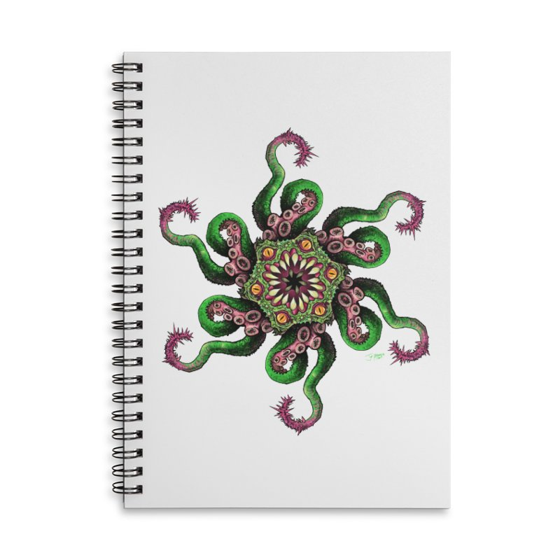 Eye See You Accessories Lined Spiral Notebook by Joe Abboreno's Artist Shop