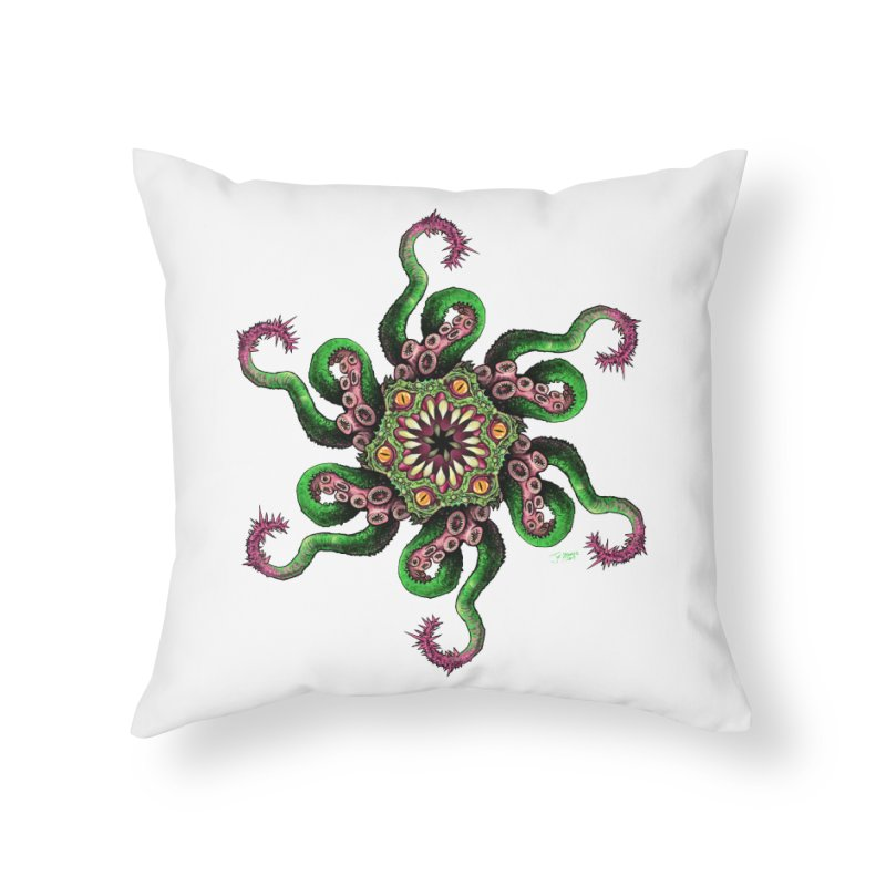 Eye See You Home Throw Pillow by Joe Abboreno's Artist Shop