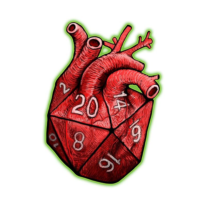 d20 Heart by Joe Abboreno's Artist Shop