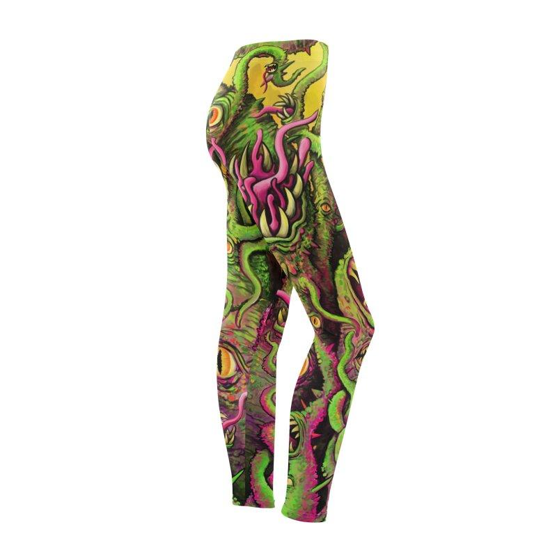 Tentacled Creature Women's Bottoms by Joe Abboreno's Artist Shop