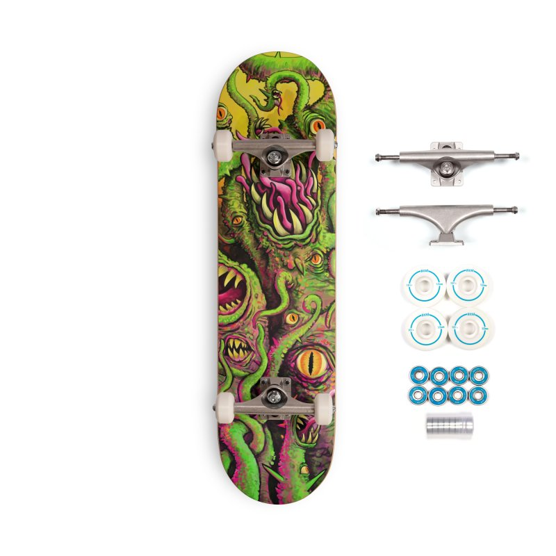 Tentacled Creature Accessories Complete - Basic Skateboard by Joe Abboreno's Artist Shop