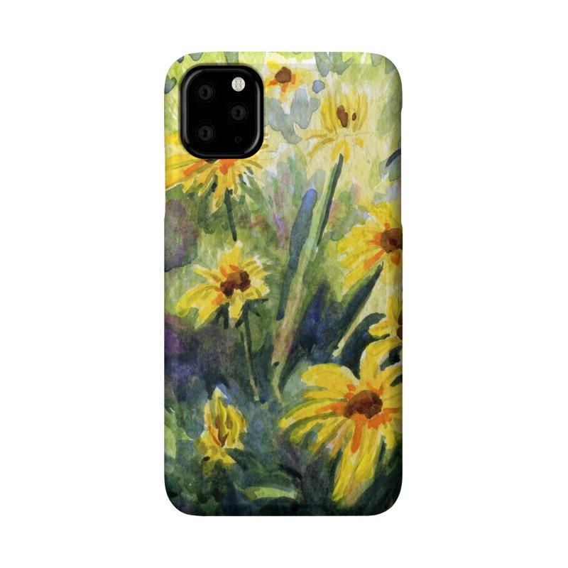 Black Eyed Susans Accessories Phone Case by Joe Abboreno's Artist Shop