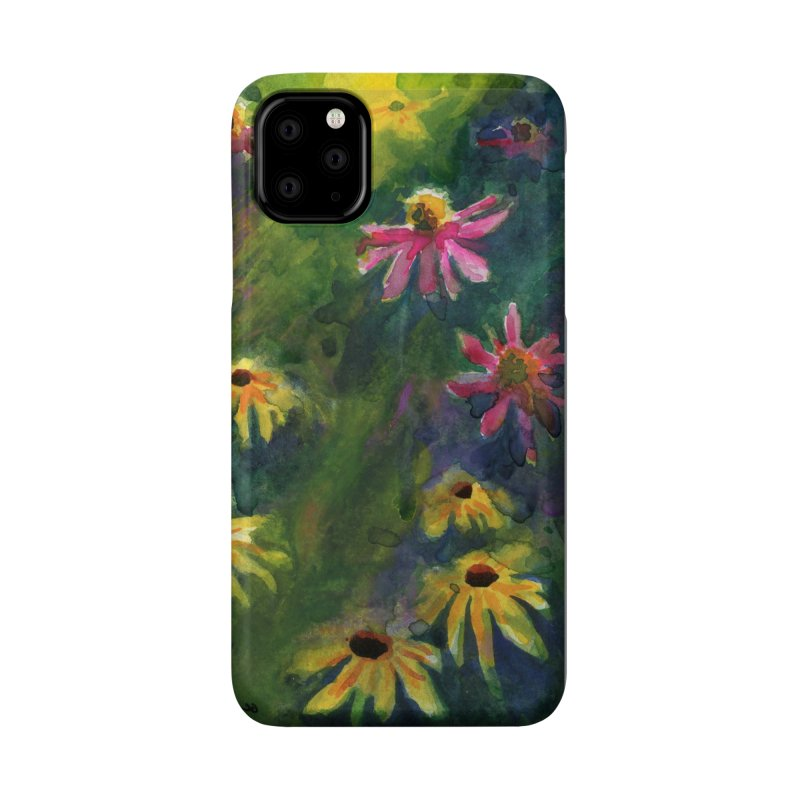 Coneflowers and Black Eyed Susans Accessories Phone Case by Joe Abboreno's Artist Shop