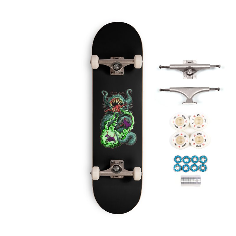 Magic Missile Accessories Complete - Premium Skateboard by Joe Abboreno's Artist Shop