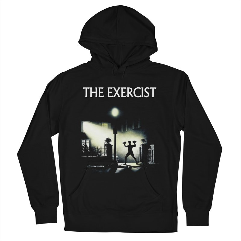 The Exercist Men's French Terry Pullover Hoody by Joe Conde
