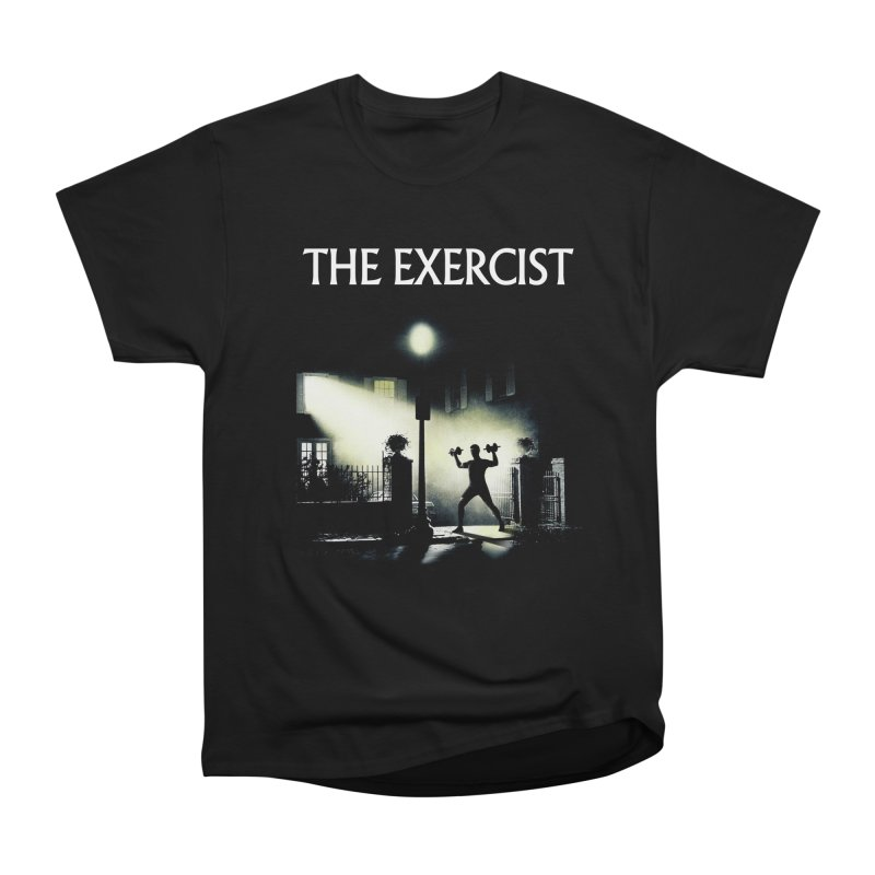 The Exercist Women's Heavyweight Unisex T-Shirt by Joe Conde
