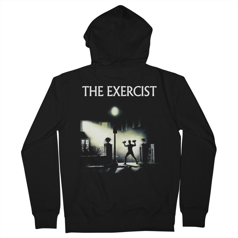 The Exercist Men's French Terry Zip-Up Hoody by Joe Conde