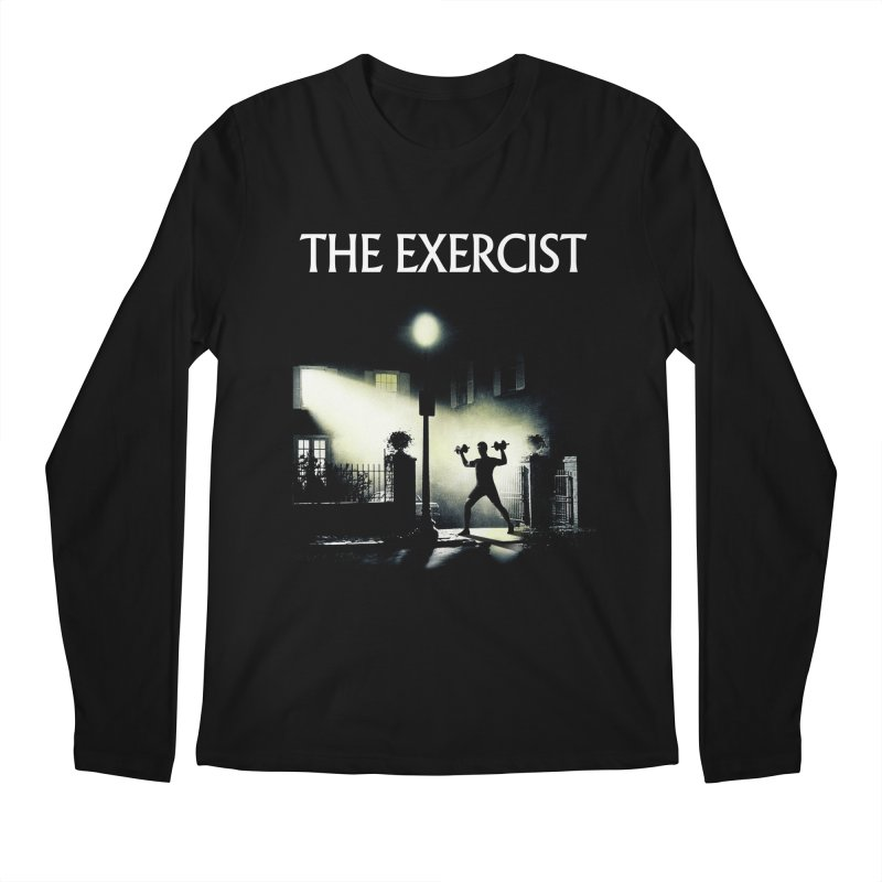 The Exercist Men's Regular Longsleeve T-Shirt by Joe Conde