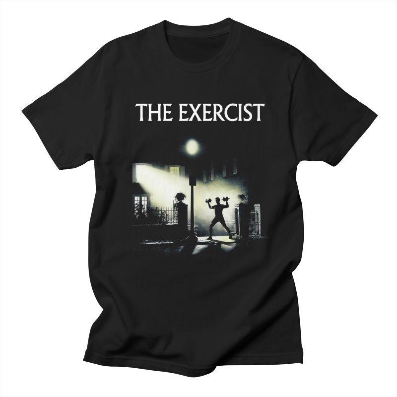 The Exercist Men's Regular T-Shirt by Joe Conde