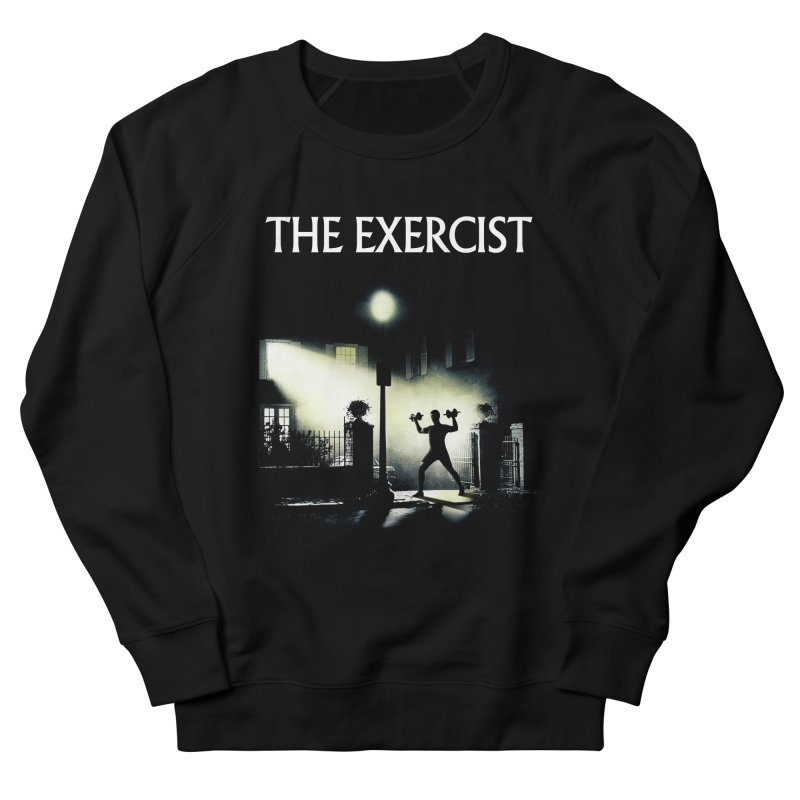 The Exercist Men's French Terry Sweatshirt by Joe Conde