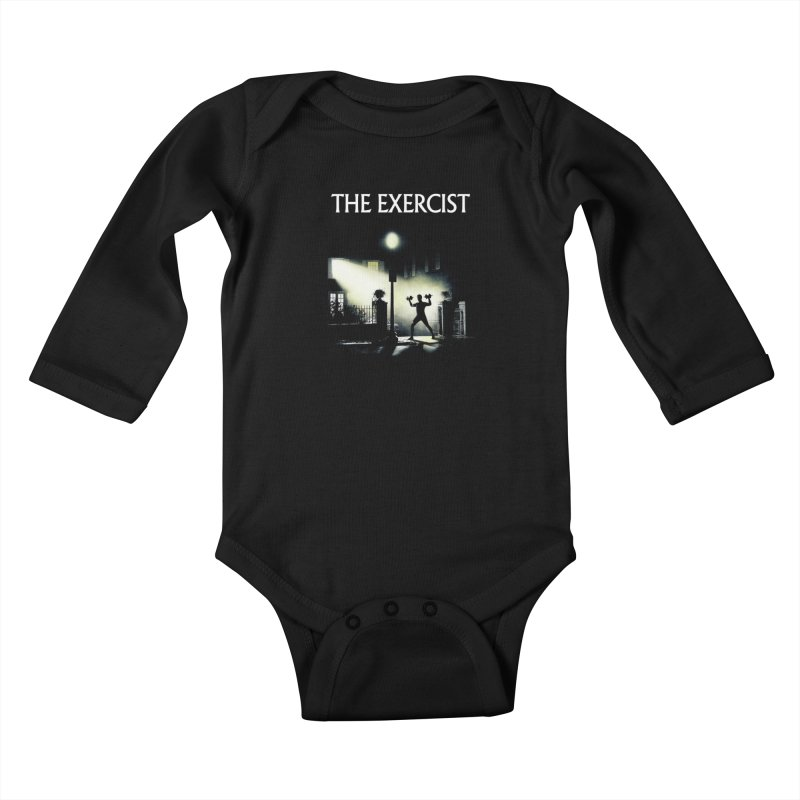 The Exercist Kids Baby Longsleeve Bodysuit by Joe Conde