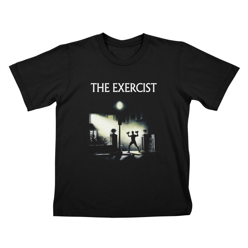 The Exercist Kids T-Shirt by Joe Conde