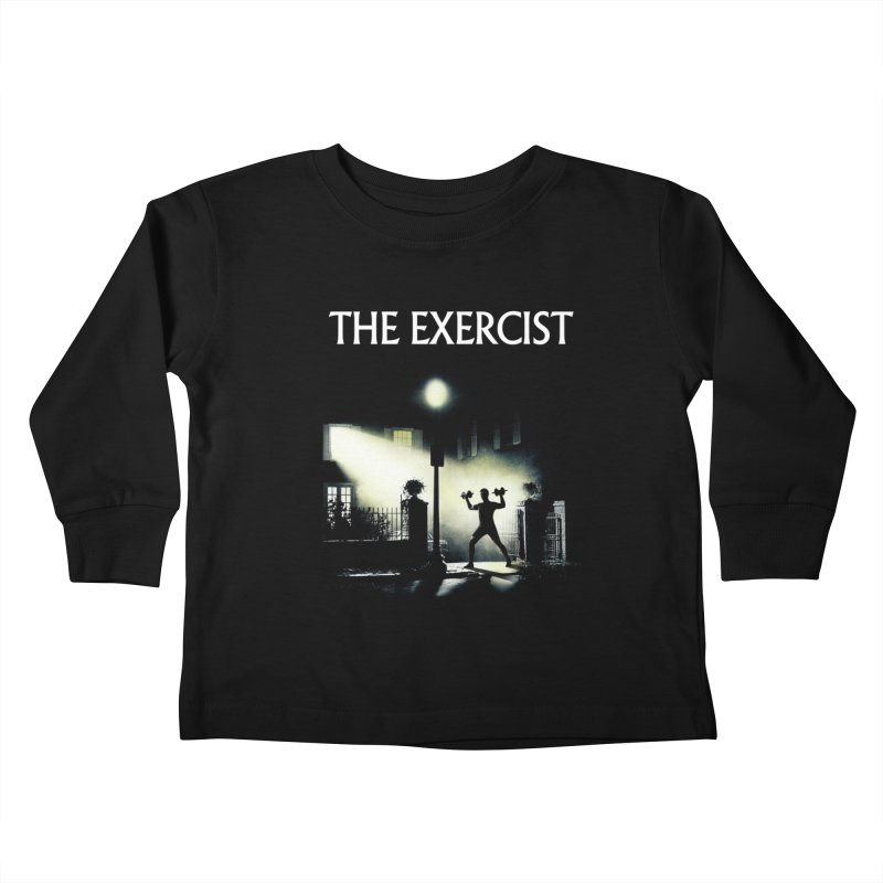 The Exercist Kids Toddler Longsleeve T-Shirt by Joe Conde