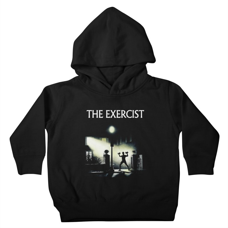 The Exercist Kids Toddler Pullover Hoody by Joe Conde